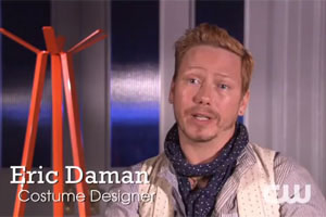 S05E13 : Le Styliste Eric Daman décrypte le style du 100th Episode