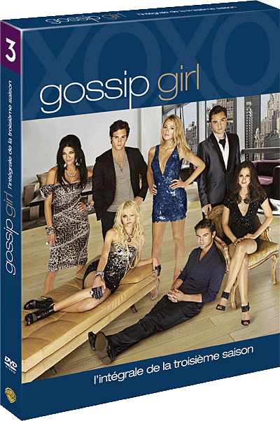 dvd gossip girl saison 3 france 2011
