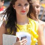 Leighton Meester sur le tournage de la saison 5 de Gossip girl (3)