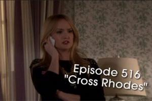 S05E16 Preview « Cross Rhodes »