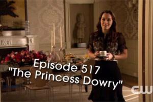 S05E17 Preview « The Princess Dowry »