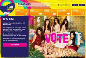 Votez aux Teen Choice Awards 2012 ! (Les nominés)